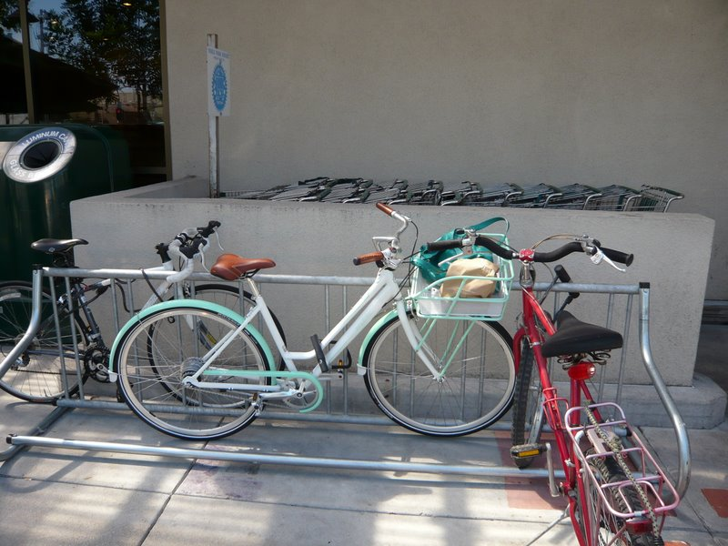 My Simple City in the new Whole Foods bike racks