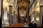 Inside the amazing Salisbury Cathedral