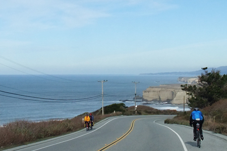 January 9, 2011. Winter in Northern California. The coast, as they say, is clear!