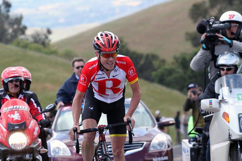 I'm not going to reduce the size of this photo because there's no way to reduce the size of Chris Horner's ride today!