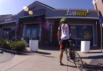 Lunch at the Subway in San Ramon (Camino Tassajara & Blackhawk Road)