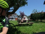 Every cyclist in Pescadero had their iPhones out, maybe texting, maybe sending photos, telling people who nice it was to ride today.