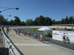 Stopped by to see the Hellyer Velodrome in action (it's right at the end of the trail)