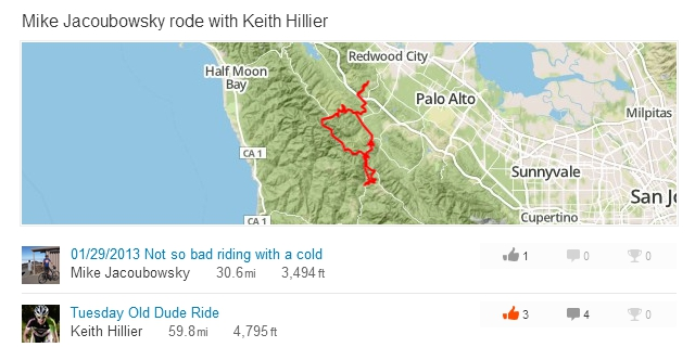 """""""Tuesday Old Dude Ride?"""" If Keith wasn't so fast (and some of us weren't so old?)..."""