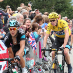 Chris Froome first time up Alpe d'Huez