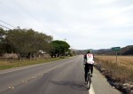 Approaching Pescadero from the coast (not the usual direction)