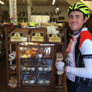 The Pescadero Bakery is one very good reason to ride!